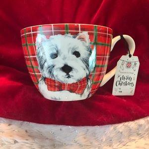 Portobello By Design Christmas Westie mug